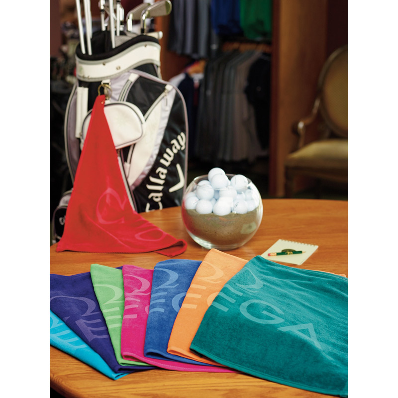 "Turkish Signature Colored Midweight Golf Towel 16"" x 24"", 2.5 lbs./doz."