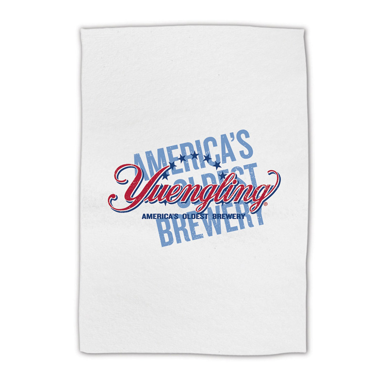 "Promotional White Golf Towel 15"" x 18"""