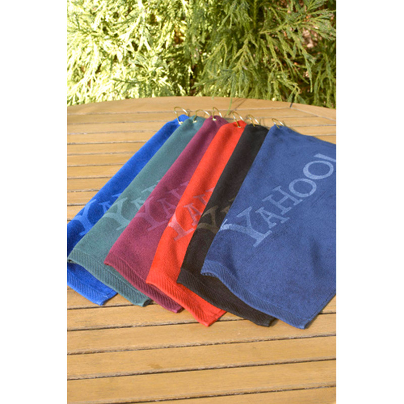 "Turkish Signature Colored Ultraweight Golf Towel 16"" x 25"", 4 lbs./doz."