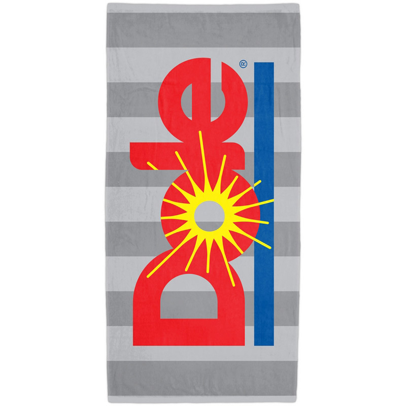 Custom Rugby Beach Towel  (Standard Size)