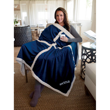Bedford Fleece Throw Blanket