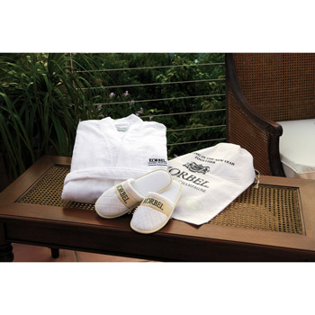 CABANA BAY Robe, Slippers & Gift Set