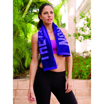 Turkish Signature Colored Workout Towel