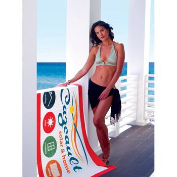 Frame It! Beach Towel