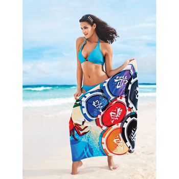 "ColorFusion35"" x 60"" Deluxe Beach Towel"