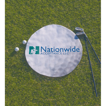 ColorFusion Hot Round Golf Towel