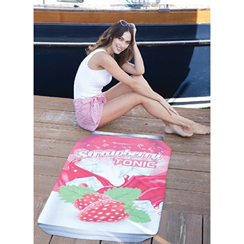 ColorFusion™ Can-Do Beach Towel™