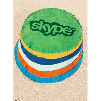 Surfside 360 Round Beach Towel™ (Colors)